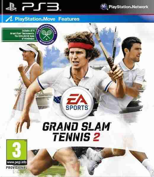 Descargar Grand Slam Tennis 2 [MULTI][FW 3.7x][RiOT] por Torrent